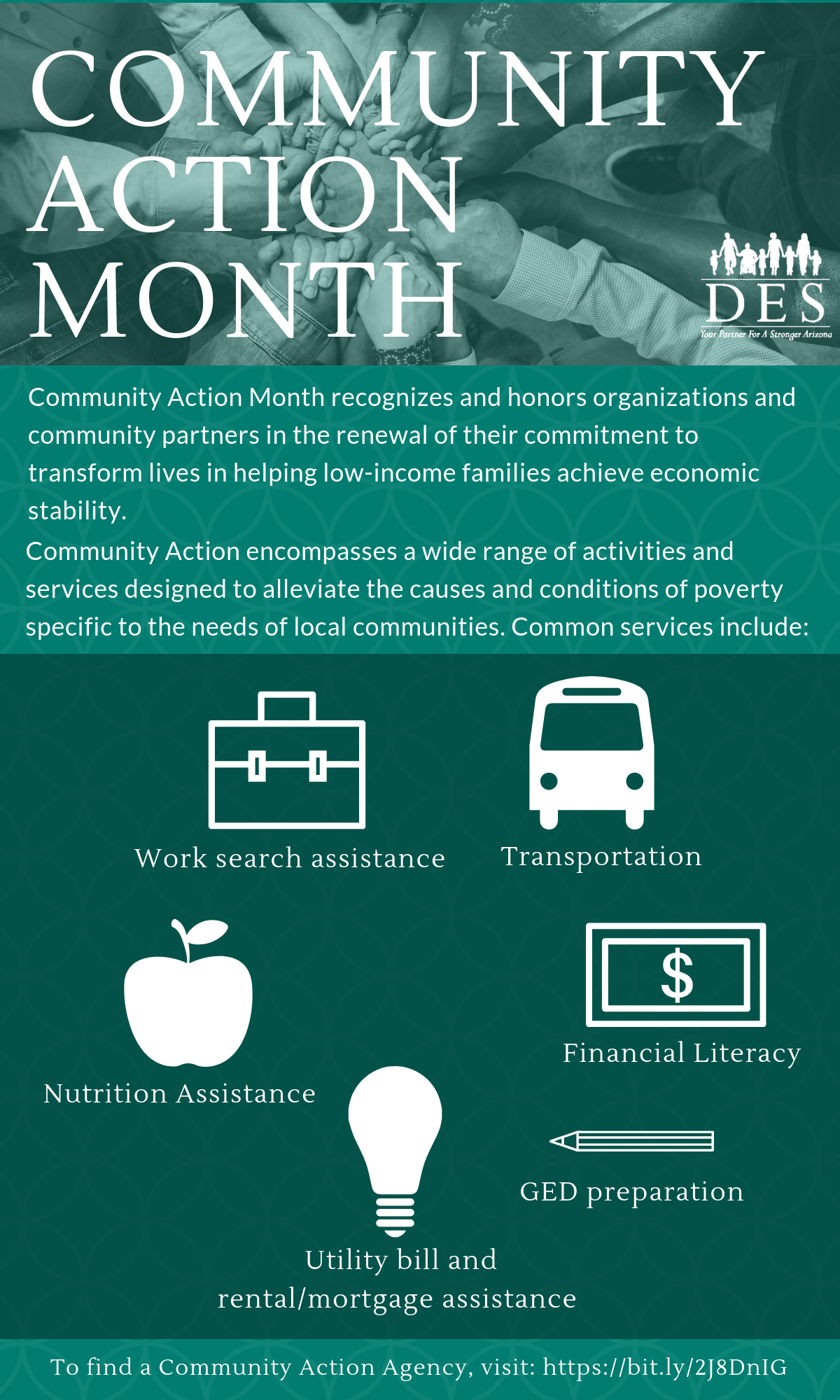 Facts and figures about Community Action Month