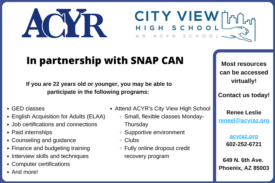 Arizona Center for Youth Resources (ACYR)