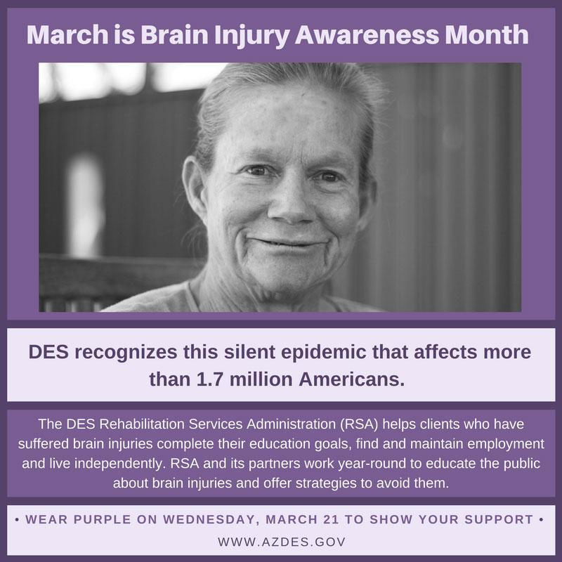 Brain Injury Awareness Month Infographic