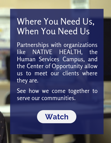 Watch Where You Need Us, When You Need video about DES partnerships with organizations to come together to serve our communities.