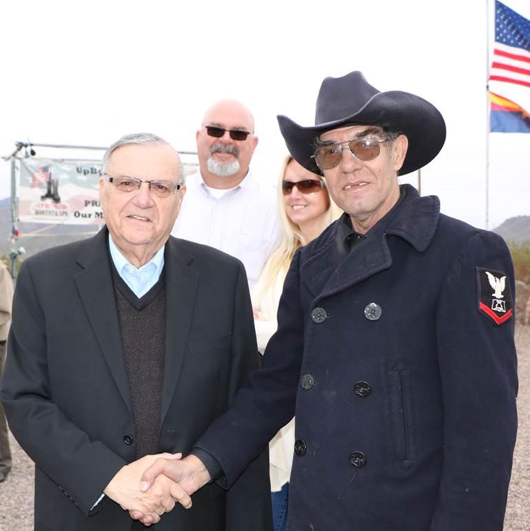 Richard and Sheriff Joe