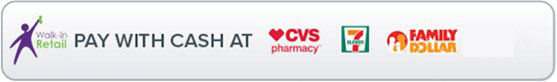 Logos para tiendas CVS, 7 Eleven y Family Dollar