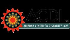 Logotipo del Centro Arizona para la Ley de Discapacidad