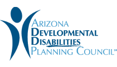 Logotipo de Arizona Developmental Disabilities Planning Council