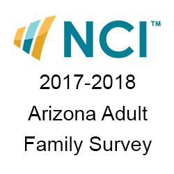 2017-2018 NCI Arizona Adult Family Survey cover page