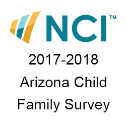 2017-2018 NCI Arizona Child Family Survey cover page