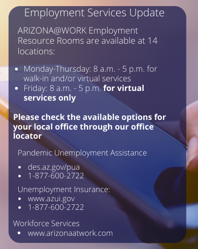 employment service update mobile