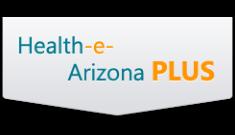 Logotipo de Health-e Arizona PLUS