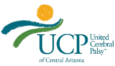 Logo for the website for United Cerebral Palsy of Central Arizona