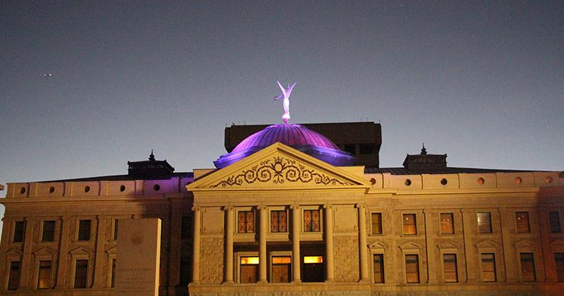 Arizona State Capitol - Domestic Violence Awareness Month