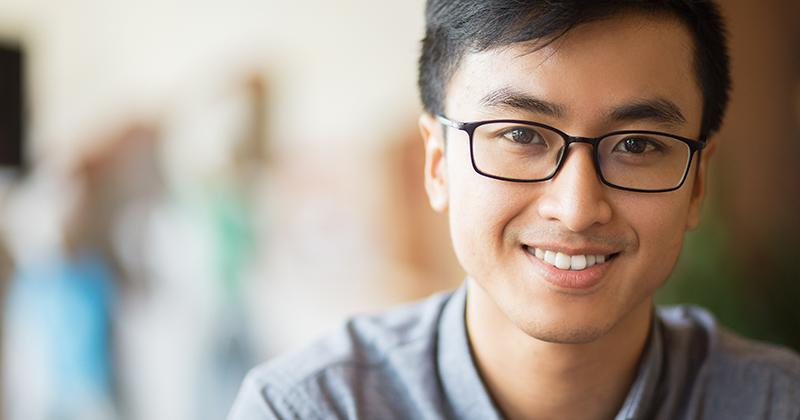 Young Adult Man Smiling Person