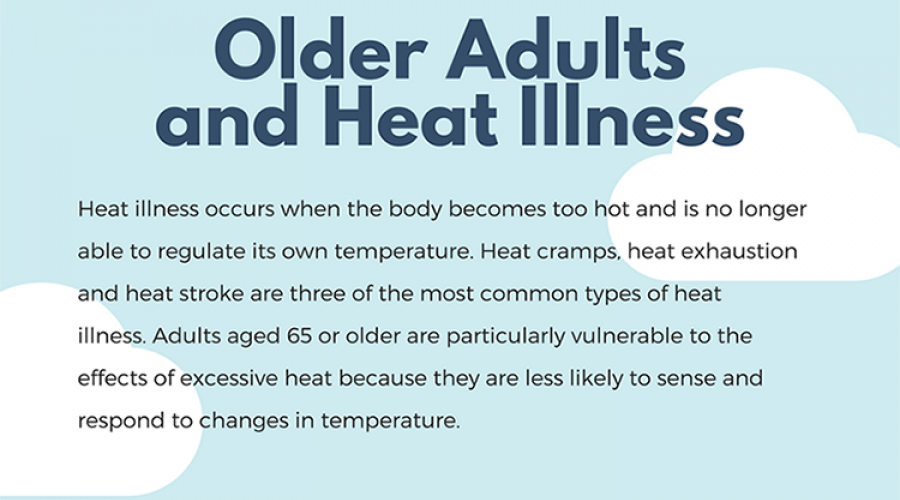 Older adults and heat illness