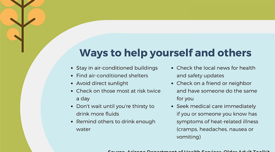 Older adults and heat illness - Ways to help yourself and others