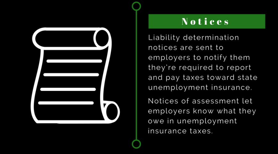 Unemployment Insurance - Notices