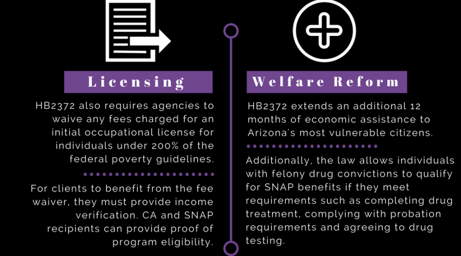 Licensing and Welfare Reform