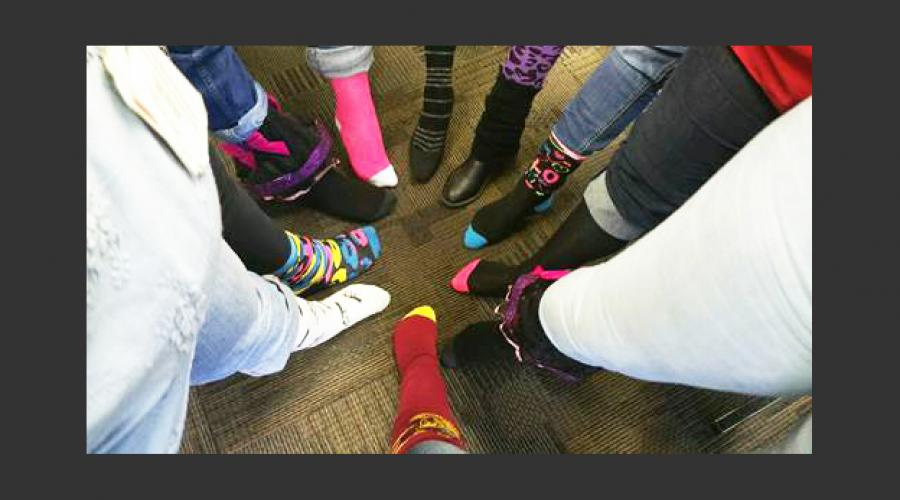 Family Assistance Administration Crazy Sock Day