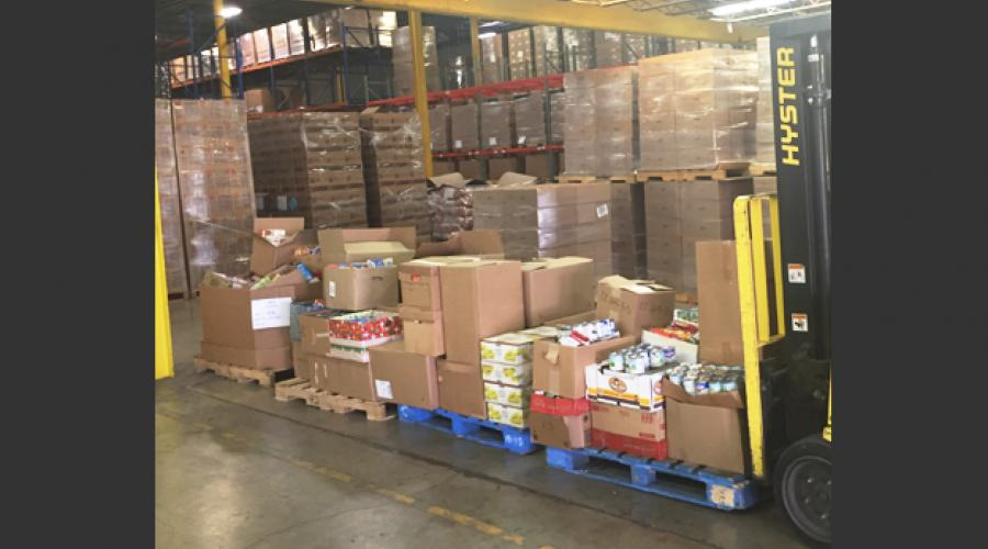 Division of Developmental Disabilities Food Drive Pallets 1