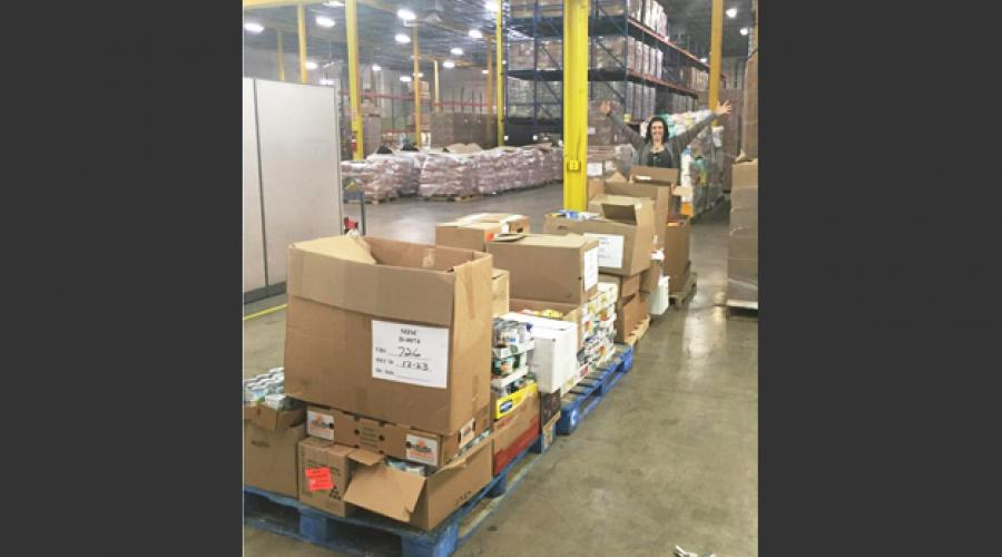 Division of Developmental Disabilities Food Drive Pallets 2