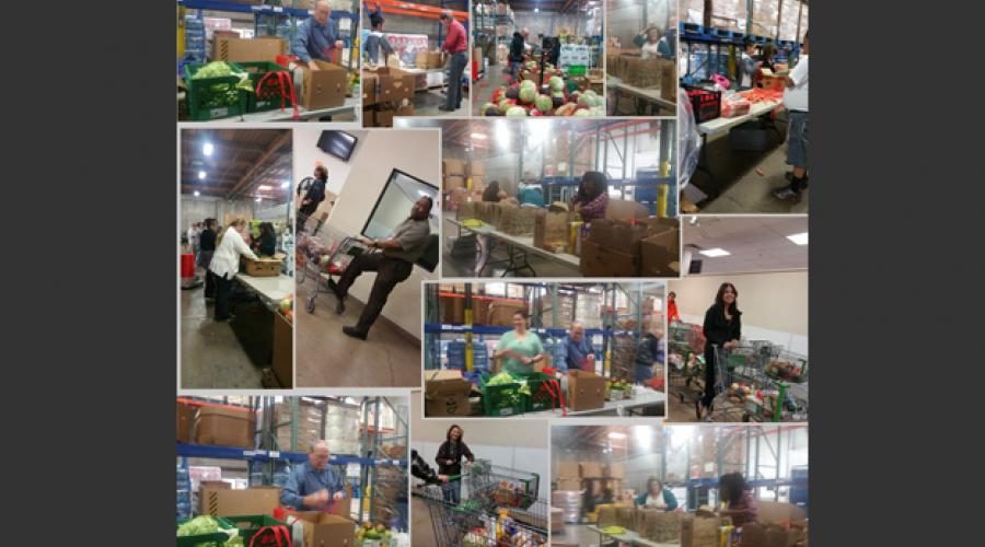 Family Assistance Administration, Aging & Adult Services turkey drive for St. Mary's Food Bank
