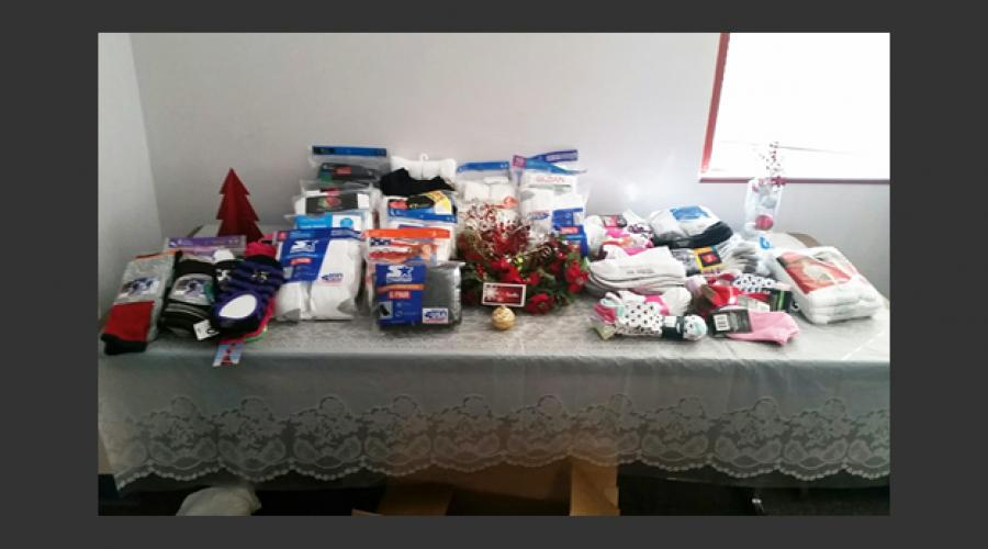 Family Assistance Administration Sock Drive