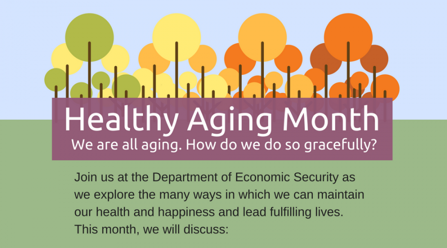 Healthy Aging Month -